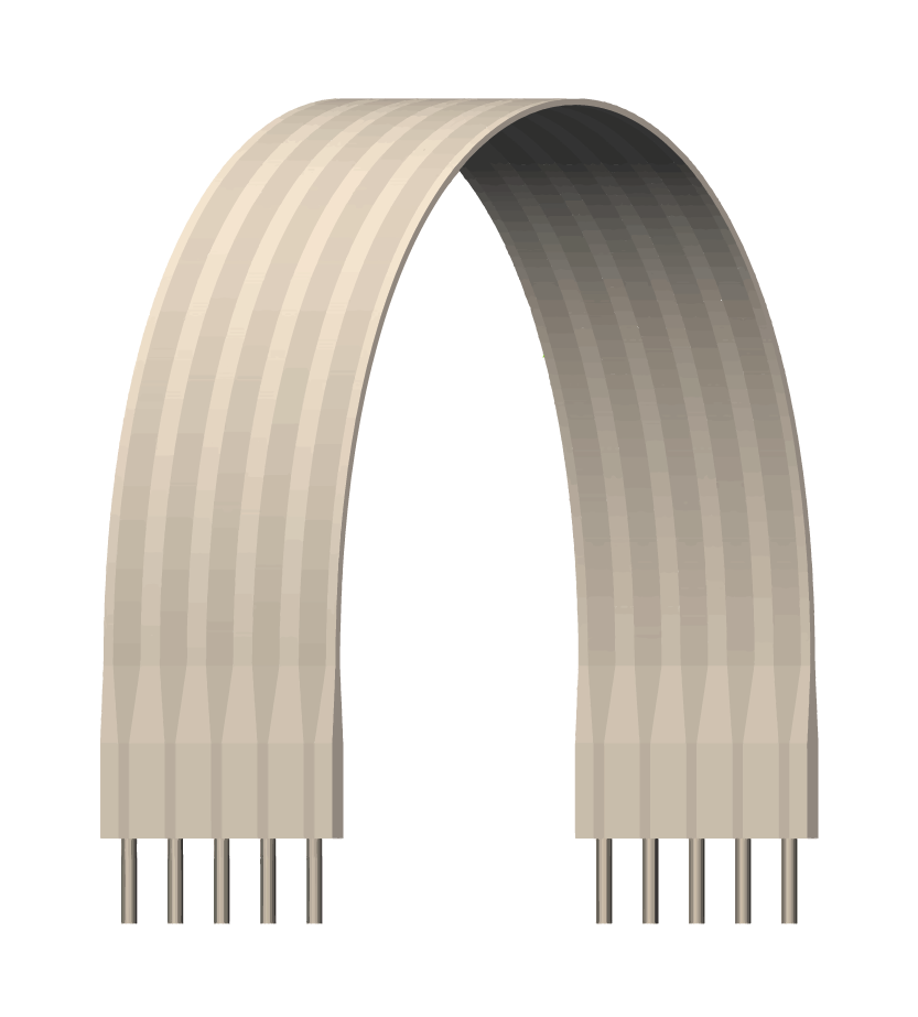 round-flat-cables